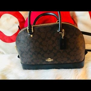 👜Coach Brown/Black SIG SIERRA SAT